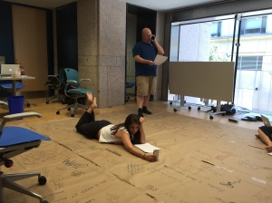 Google Doll rehearsal